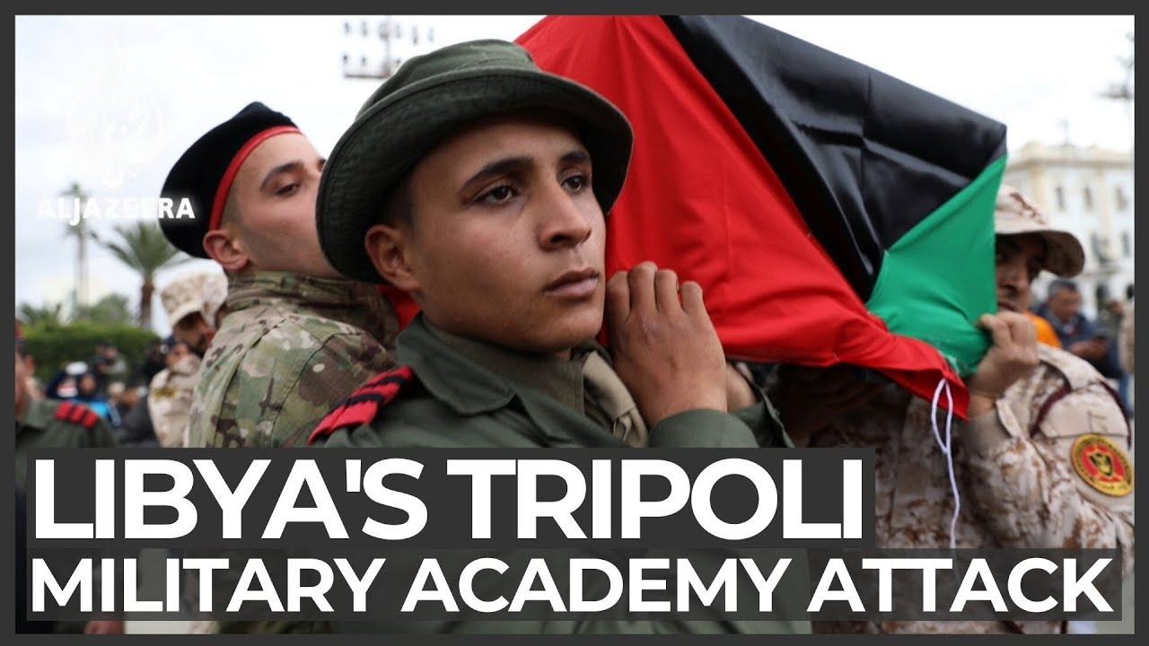 Dozens killed in attack on military academy in Libya's Tripoli