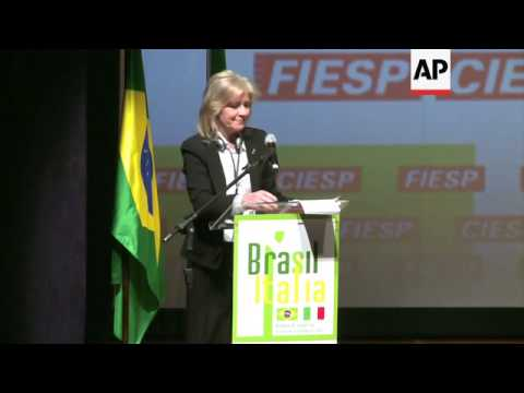BRAZILIAN AND ITALIAN OFFICIALS HOST TRADE CONFERENCE