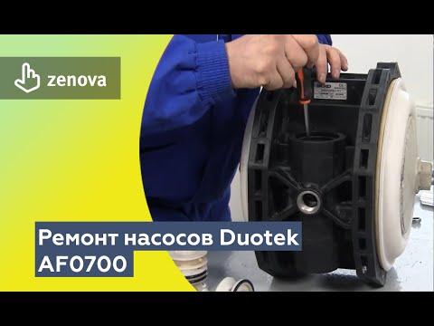 Ремонт мембранных пневматических насосов Duotek AF0700