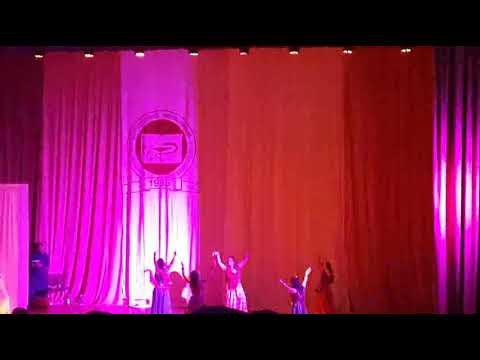 Garba performance in Kursk (Indian night 2015)