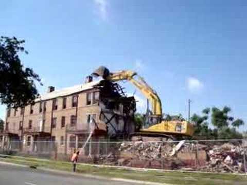 Lafitte demolition