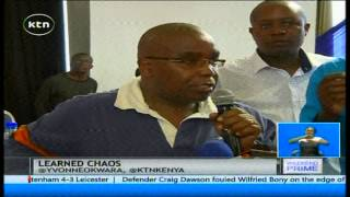 Chaos marred the Law Society of Kenya Annual General Meeting