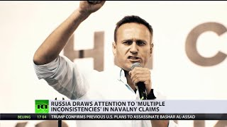 Moscow to Berlin: 'Stop politicizing' Navalny's alleged poisoning