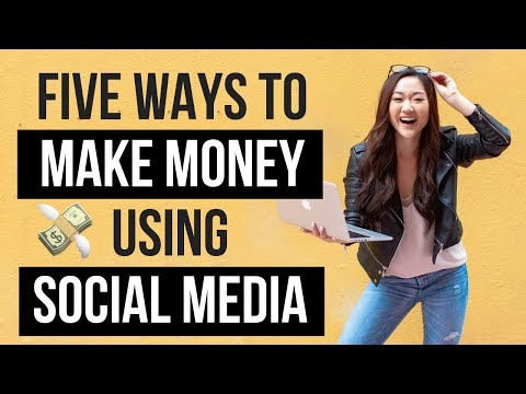 How to Make Money on Social Media in 2020 (5 DIFFERENT WAYS!)