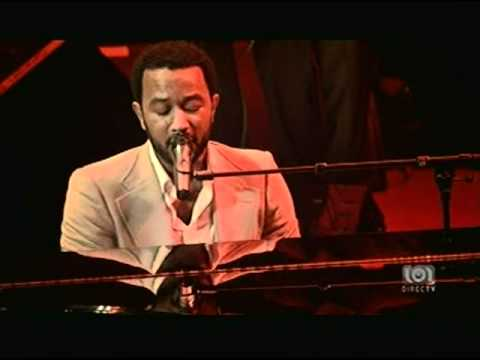 "John Legend- Live ""Each day gets better"""