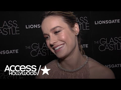 Brie Larson On How 'The Glass Castle' Is About Acceptance & Not Forgiveness