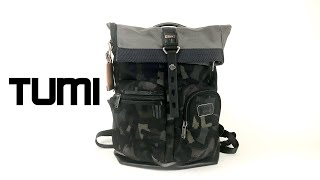 Tumi Mens Alpha Bravo Backpack
