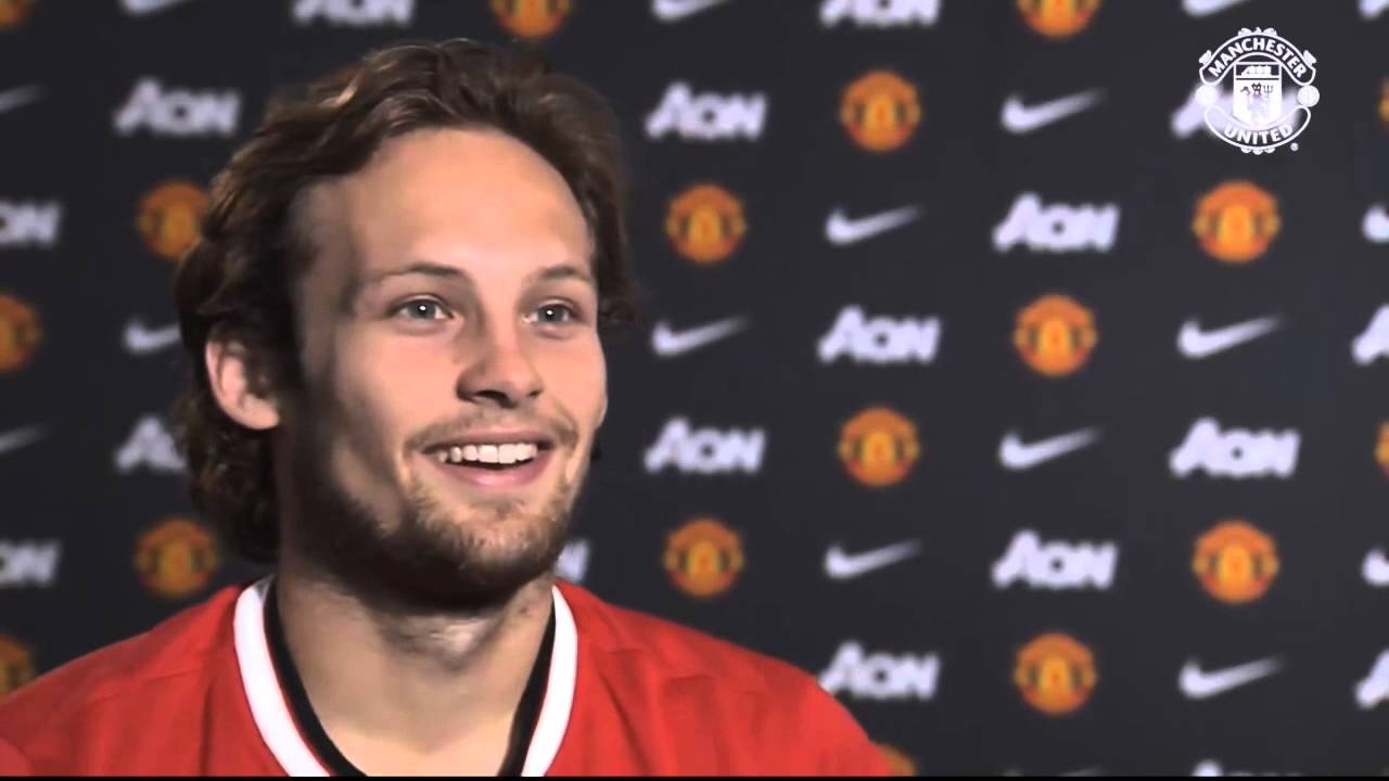 Daley Blind first interview as a Manchester United player