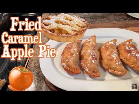How to make Fried Caramel Apple Pie