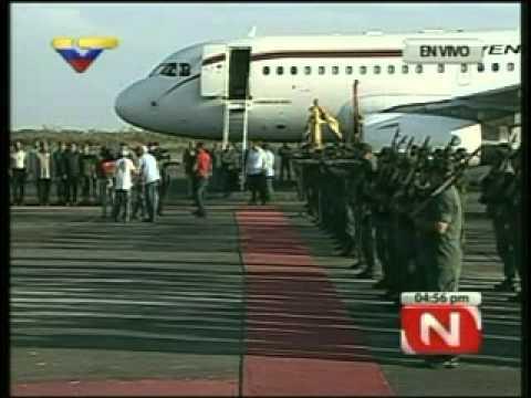 Presidente Chávez visita Santuario Nacional de Guanare (6 de enero de 2012)
