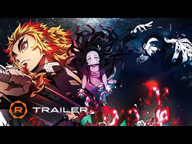 Demon Slayer the Movie: Mugen Train Official Trailer (2021) – Regal HD