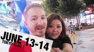 #HEREWEGOTOKYO - Tokyo TRAVEL VLOG Day 1