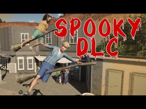 Planet Coaster Spooky DLC - Quick Look + some early ideas!