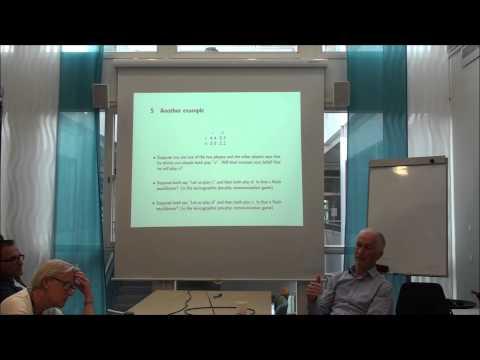 University of Gothenburg - Game theory and language - Jörgen Weibull