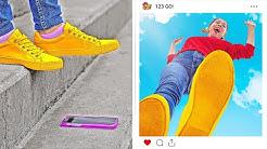 LUSTIGE UND KREATIVE FOTOIDEEN FÜR MÄDCHEN || DIY Instagram Foto-Hacks und Tricks von 123 GO!