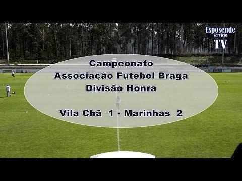 Resumo Vila Chã 1 _ Marinhas 2 _ Jogo em Vila Chã _ Esposende