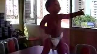 Früh übt sich – auch beim Samba tanzen