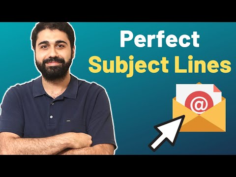 How To Write The Perfect Subject Lines and Triple Your Email Open rates?