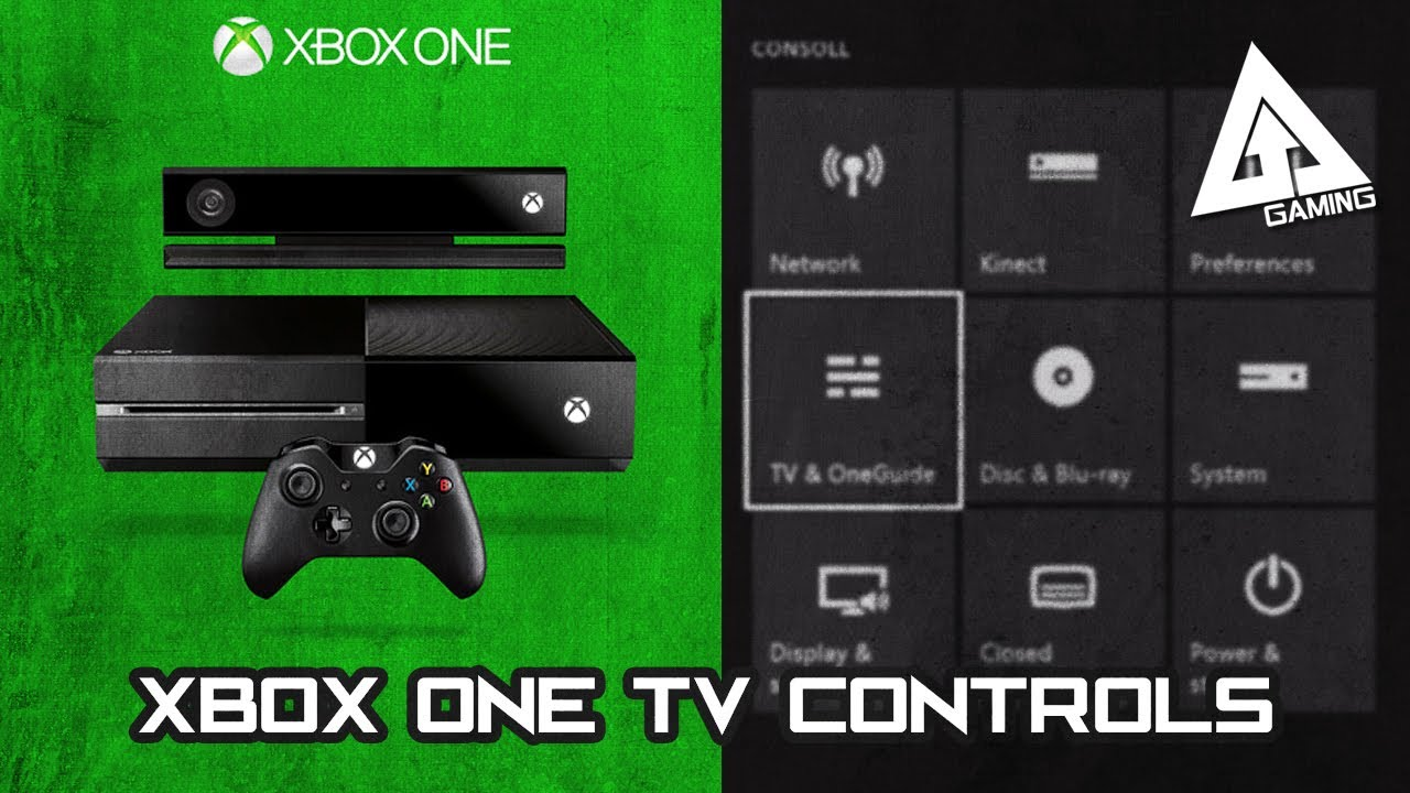 xbox one guide setting up kinect xbox turn on off tv controls commands youtube. Black Bedroom Furniture Sets. Home Design Ideas