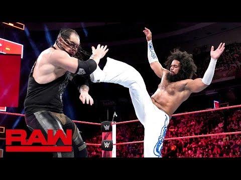 No Way Jose vs. Baron Corbin: Raw, May 21, 2018