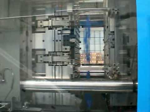 Injection molding 96 cavity cap closure mold ( 2 75 sec  )