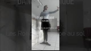 Initiation danse classique 8 ans, Ronds de jambe au sol