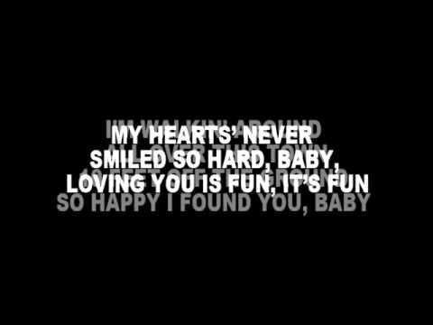 On Screen Lyrics] Easton Corbin   Lovin You Is Fun