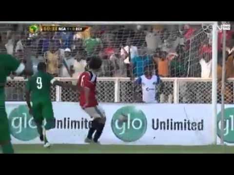 هدف محمد صلاح ف مرمى نيجيريا اليوم