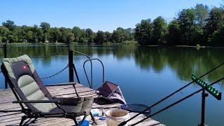 Фидерная рыбалка на очередном пляже реки Донец в Щурово