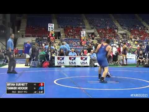 152 Cons Round 4 Tanner Hocker Iowa Vs Bryan Burnett Kansas