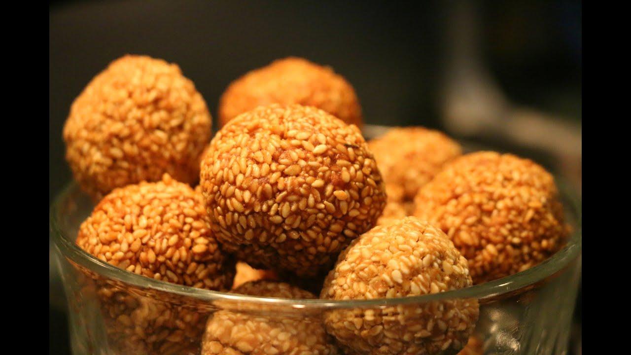 Vettu Cake Recipe Kerala Style: How To Make Ellunda/ എള്ളുണ്ട/ Sesame Seed Balls
