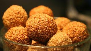 How To Make Ellunda  Sesame Seed Balls