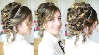 Taylor Swift Inspired Updo | Curly Updo | Braidsandstyles12