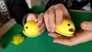 OVO GOSMENTO | Brinquedo divertido que engole e solta amoeba pela boca