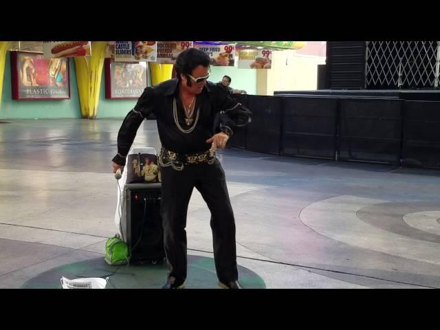 Elvis Presley in Las Vegas, Fremont Street Experience