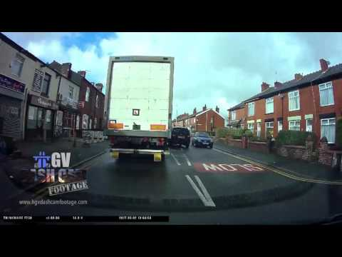 Learner driver comes to a stop - but it's not what it seems