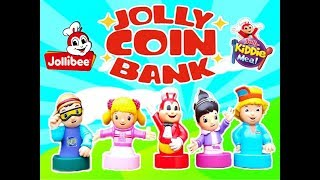 JOLLIBEE NEW KIDDIE MEAL TOY 2017 JOLLY COIN BANK!