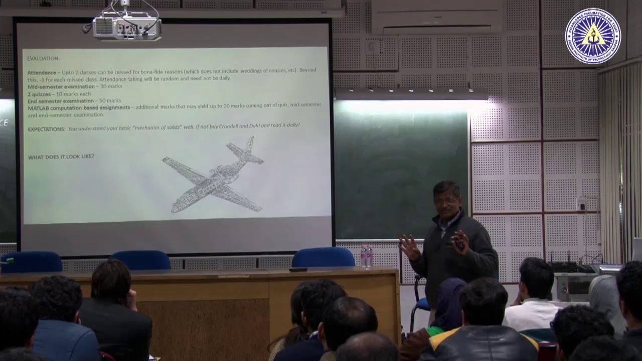 Course Monitoring Mechanism at IITK Prof C S Upadhyay