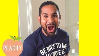 We're Pregnant?! Men Finding Out They're Going To Be Dads😍
