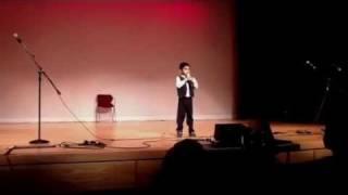 Harish 5 yrs sakkarai nilave Karaoke Dallas Tamil sangam 2011