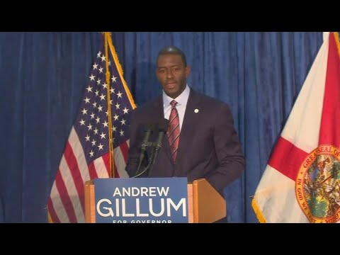 WEB EXTRA: Andrew Gillum Address The Media After Machine Recount Order in Governor's Race