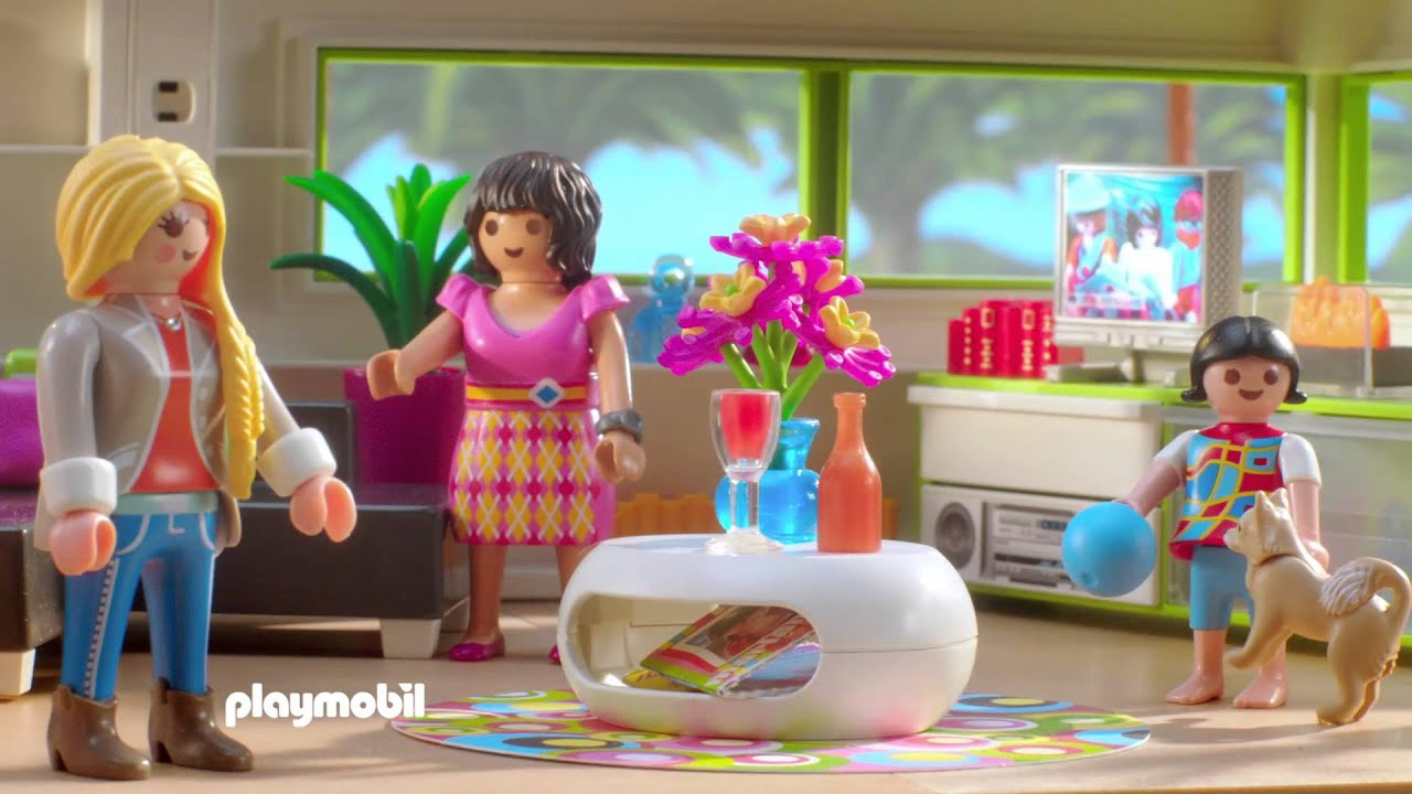 Playmobil - Luxe Villa - YouTube