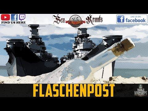 Flaschenpost- Supertest Info+Z39+Kronstadt+French BBs #WorldofWarships #SeaKrauts