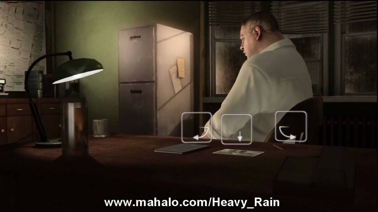 Heavy Rain Walkthrough Chapter 5 Origami Killer Hd Youtube