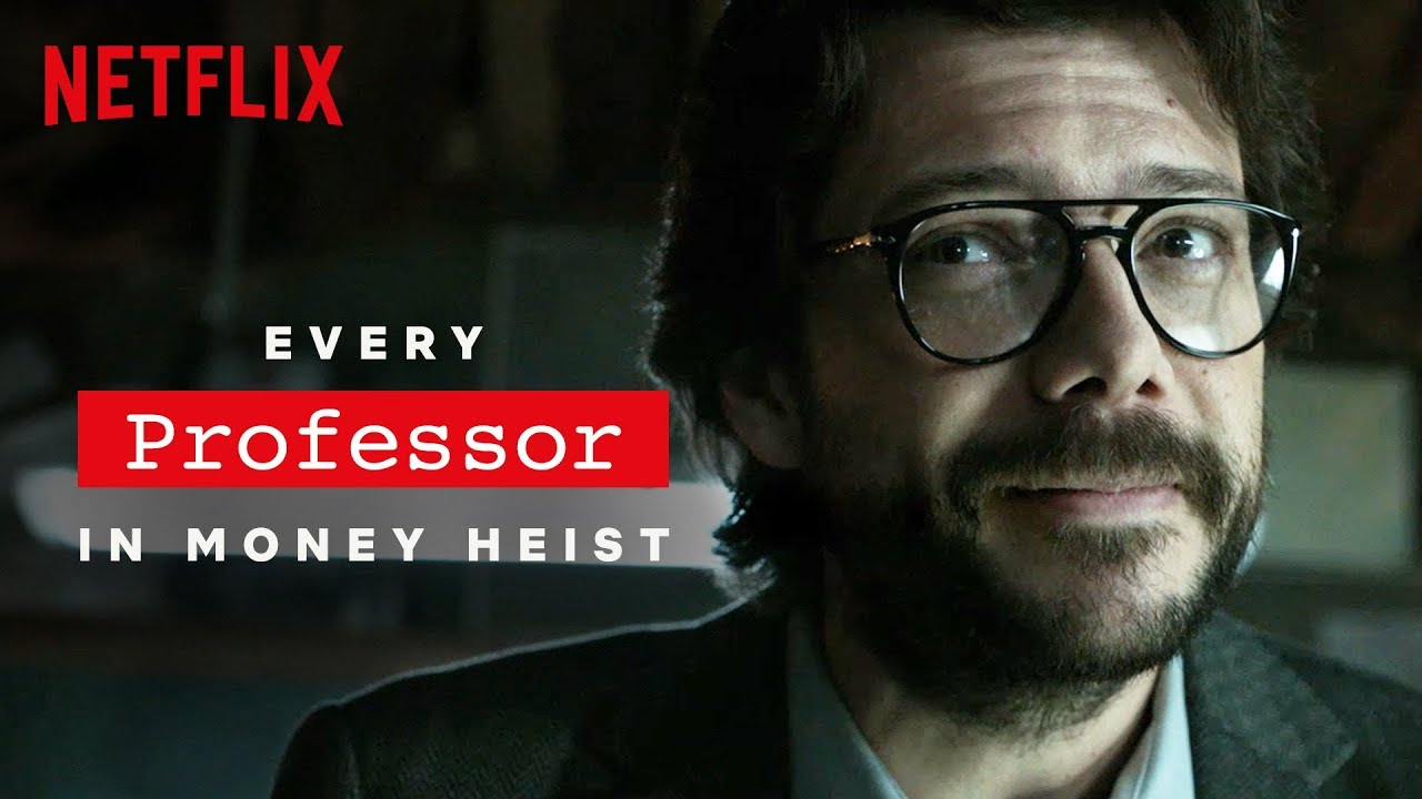Every Professor in La Casa de Papel (Money Heist) | Netflix