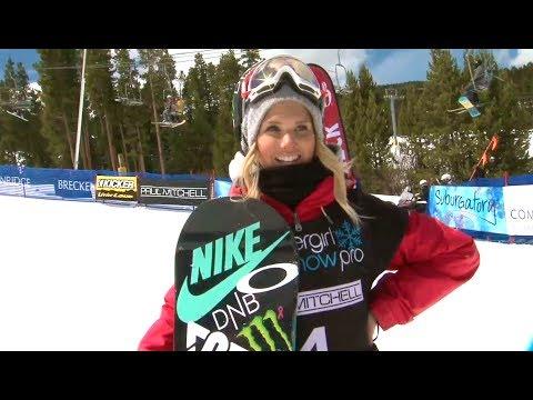 Supergirl Snow Pro at Breck TV Show | Champion - Sarka Panchochova