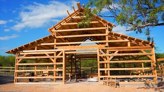 """Building a """"new"""" 100 year old Barn   E68 S3"""