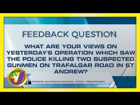 Feedback Question   TVJ News - May 11 2021