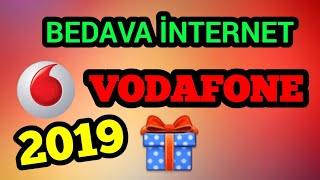 Vodafone Bedava (Sınırsız) İnternet 2019