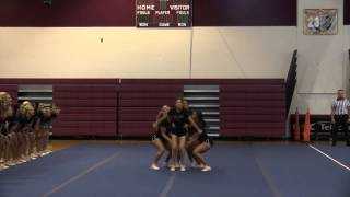 Florida State University All Girl cheer stunt